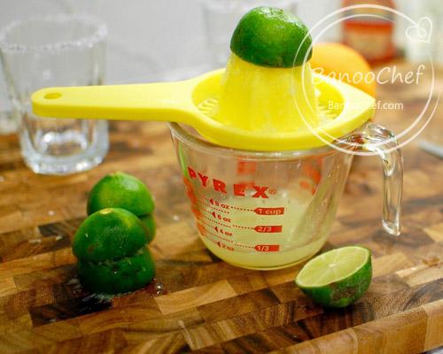 شربت پرتقال و لیمو