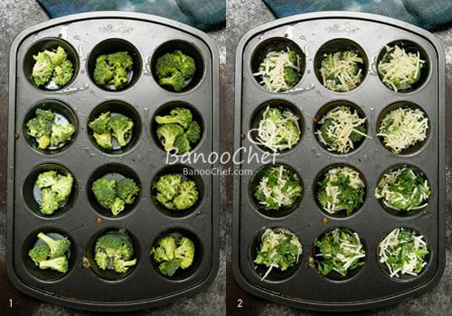 مافین سبزیجات