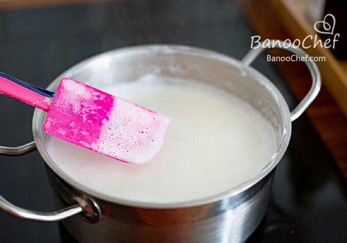 شیر عسلی خانگی